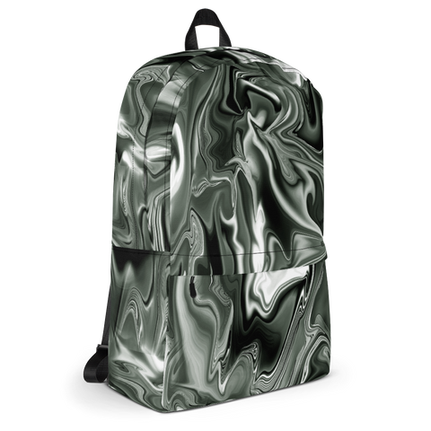 BLACK HOLO MARBLE TUMBLR SOFT GRUNGE BACKPACK - SWEATSHOP-FREE MADE IN USA 6a349d5263ccd