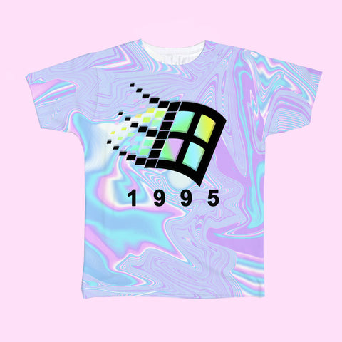 BLACK FRIDAY SALE-HOLOGRAM TUMBLR GRUNGE AESTHETIC 1995 vaporwave