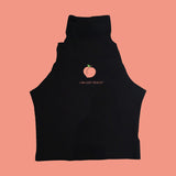 BLACK FRIDAY SALE-I AM JUST PEACHY Crop Top- FLASH SALE