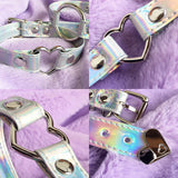 2 YEAR ANNIVERSARY SALE - HOLOGRAPHIC CHOKER