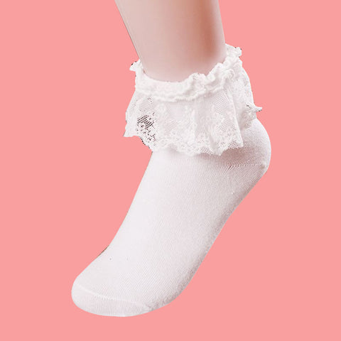 KAWAII BABY GIRL LACE SOCKS