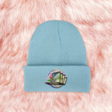 2019 VAPORWAVE TUMBLR AESTHETIC GRID- UNISEX KOKO WINTER BEANIE