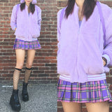 KOKO FLUFFY LAVENDER JACKET