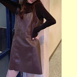 KWAII GOTH Vegan Leather Dress