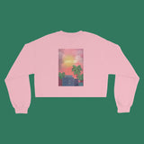 80s Japanese City Pop Aesthetic - LOVE TRIP SUNSET PINK unisex jumper
