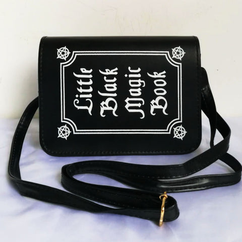 FREE SHIPPING Halloween - Goth Magic book purse