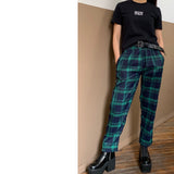 2019 OUTFIT DEAL MOON CHILD / GREEN PLAID TROUSERS