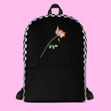 MY LOVE IS ON FIRE BACKPACK - SWEATSHOP-FREE MADE IN USA