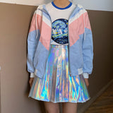 2019 PASTEL KAWAII AESTHETIC UNISEX WINDBREAKER