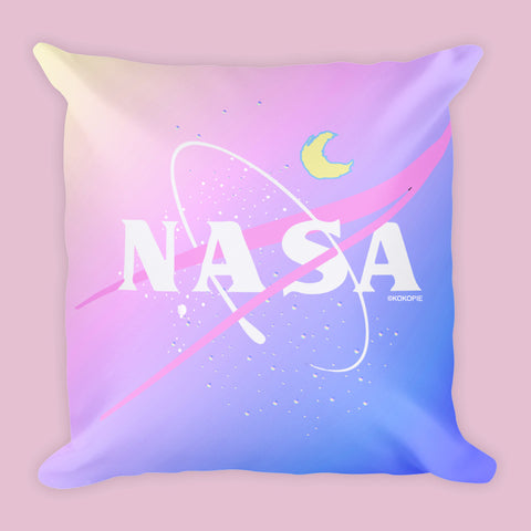 PASTEL NASA PILLOW (SWEATSHOP-FREE, MADE IN USA)