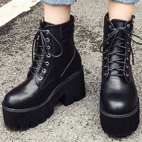 MUST HAVE FALL BOOTS SALE-Grunge COMBAT BOOTS
