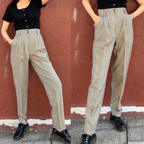 Limited Item - Quality Japanese Vintage 100% WOOL Trousers