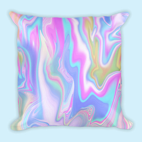 HOLO MARBLE PILLOW (SWEATSHOP-FREE, MADE IN USA)