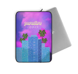 80s Japanese City Pop Aesthetic - paradise laptop case