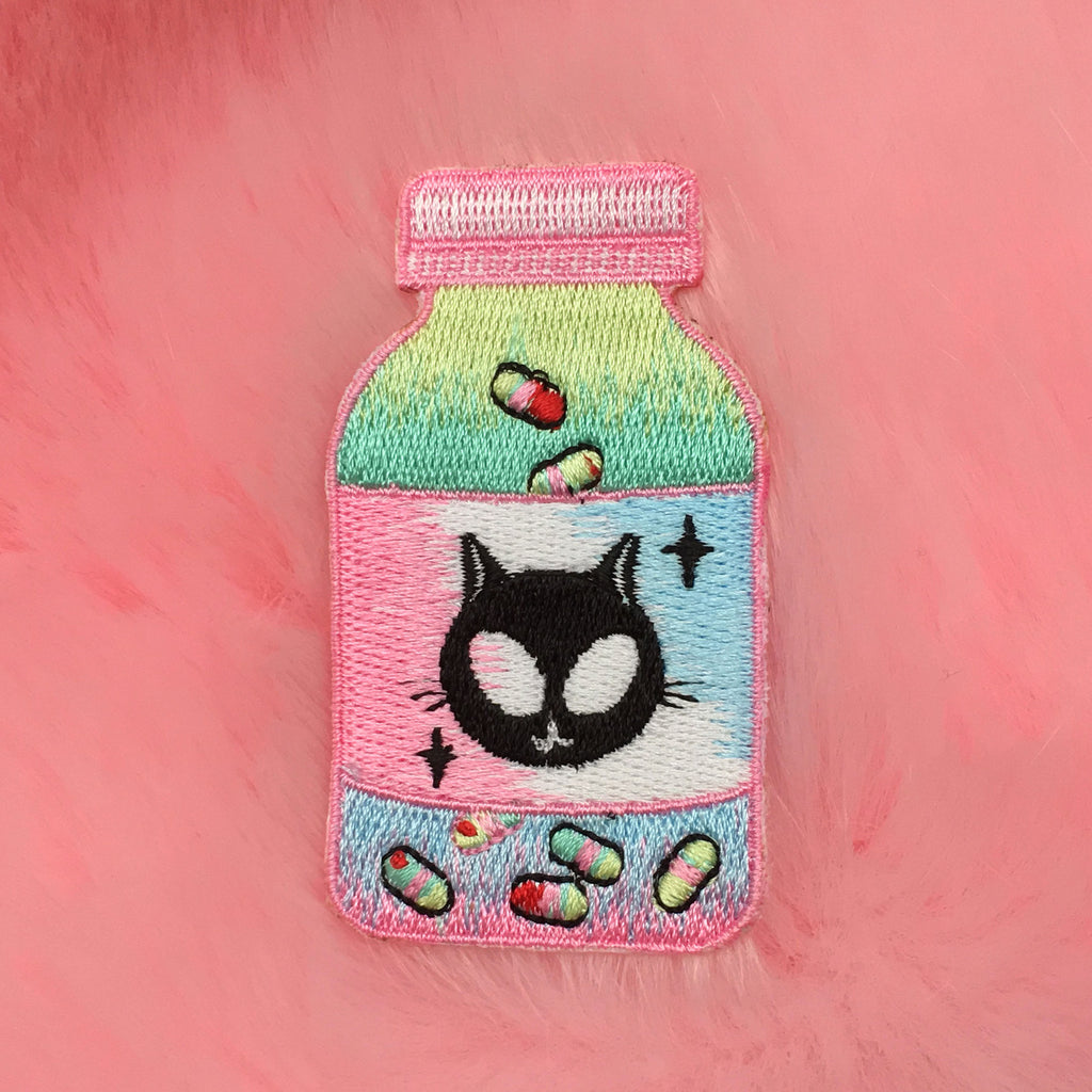 Valentine's Day SALE-KOKO ALIEN NEKO CHILLPILL PATCH