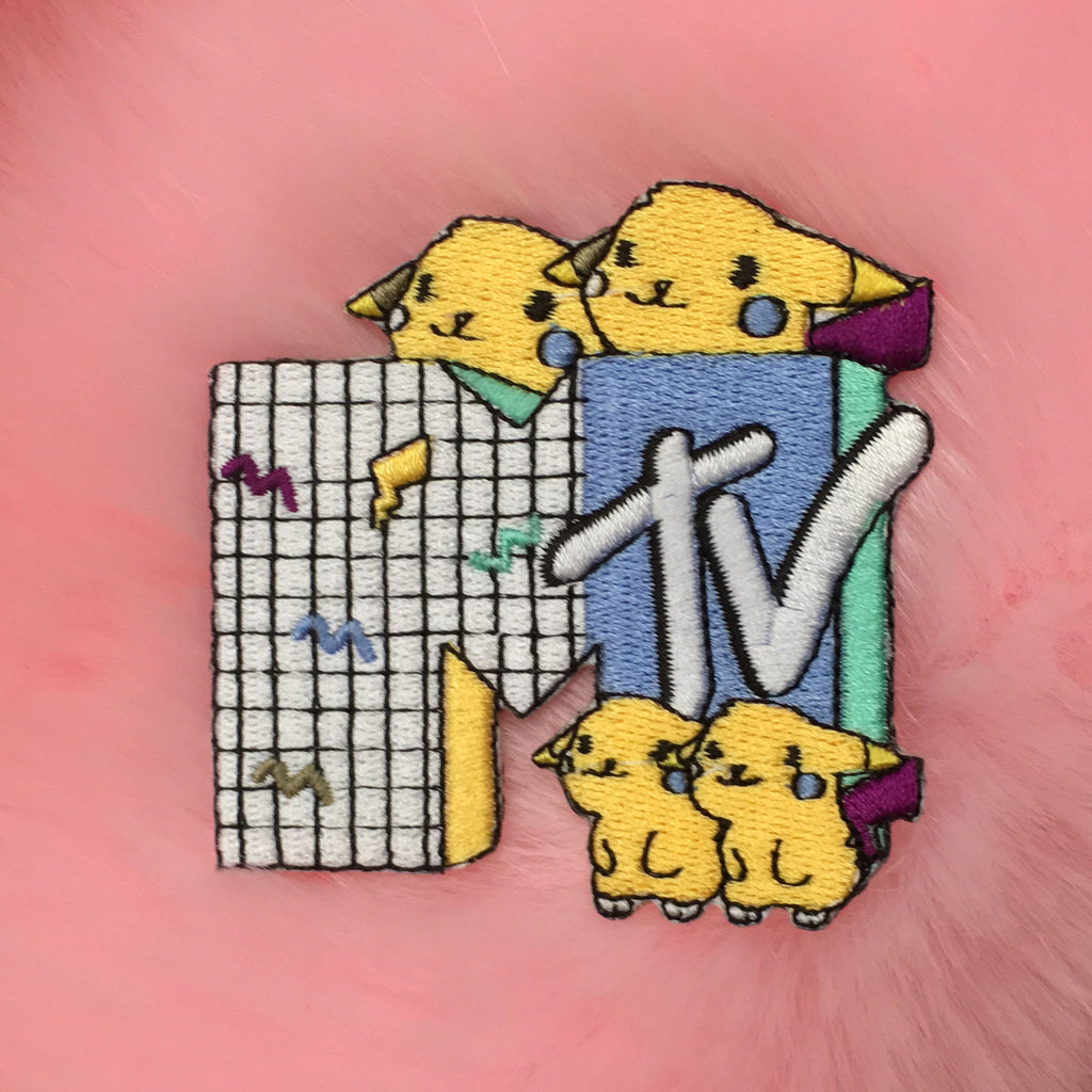 Valentine's Day SALE-KOKO KAWAII MTV PIKAPIKA PATCH