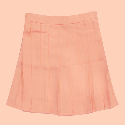 Tumblr aesthetic peachy skirt
