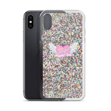 BLING BLING KOKO ANGEL-GLITER PRITED PHONE CASE