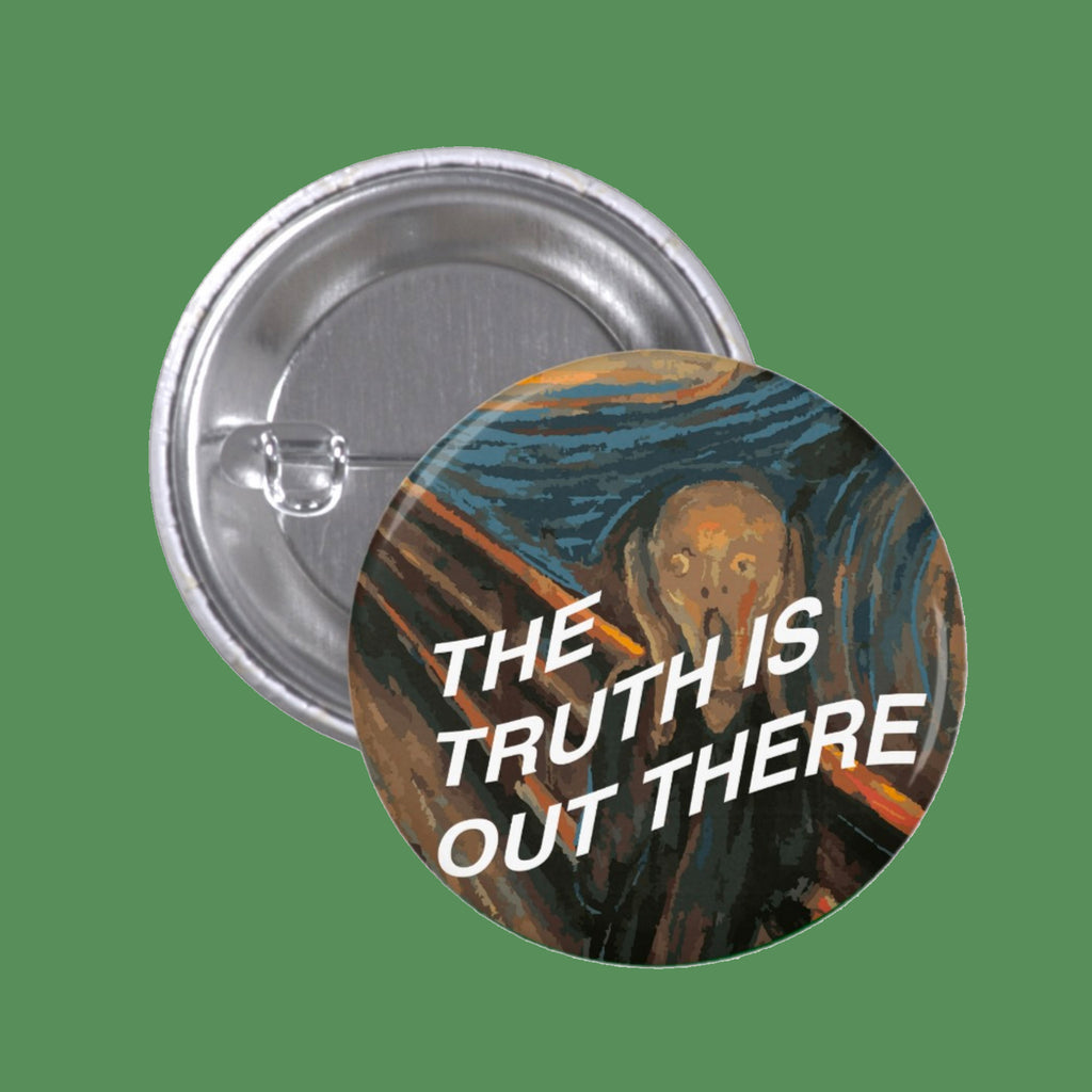 MUNCH SCREAM ART PIN