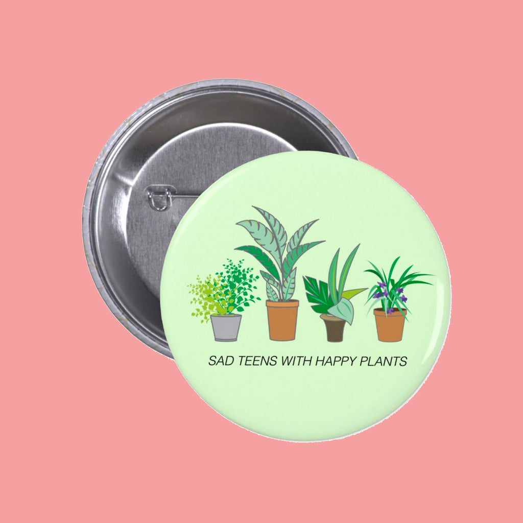 ... Valentineu0027s Day SALE SAD TEENS HAPPY PLANTS PIN