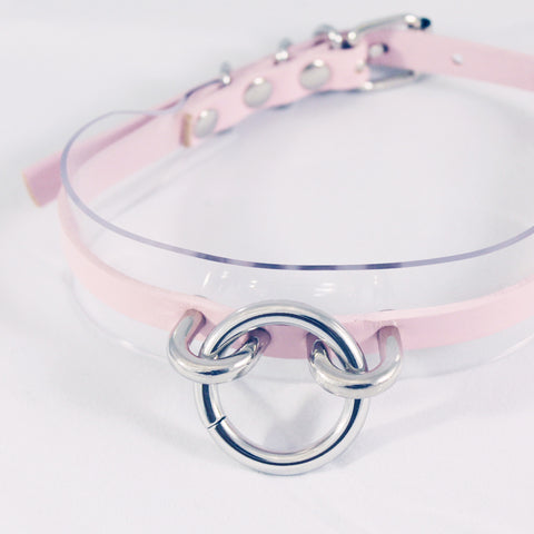 Valentine's Day-BABY-GIRL-PASTEL RING CHOKER