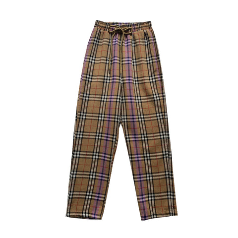90S COOL KIDS PLAID UNISEX TROUSERS