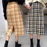 2019 FALL WINTER NEW - K POP FASHION STYLE LONG Skirt