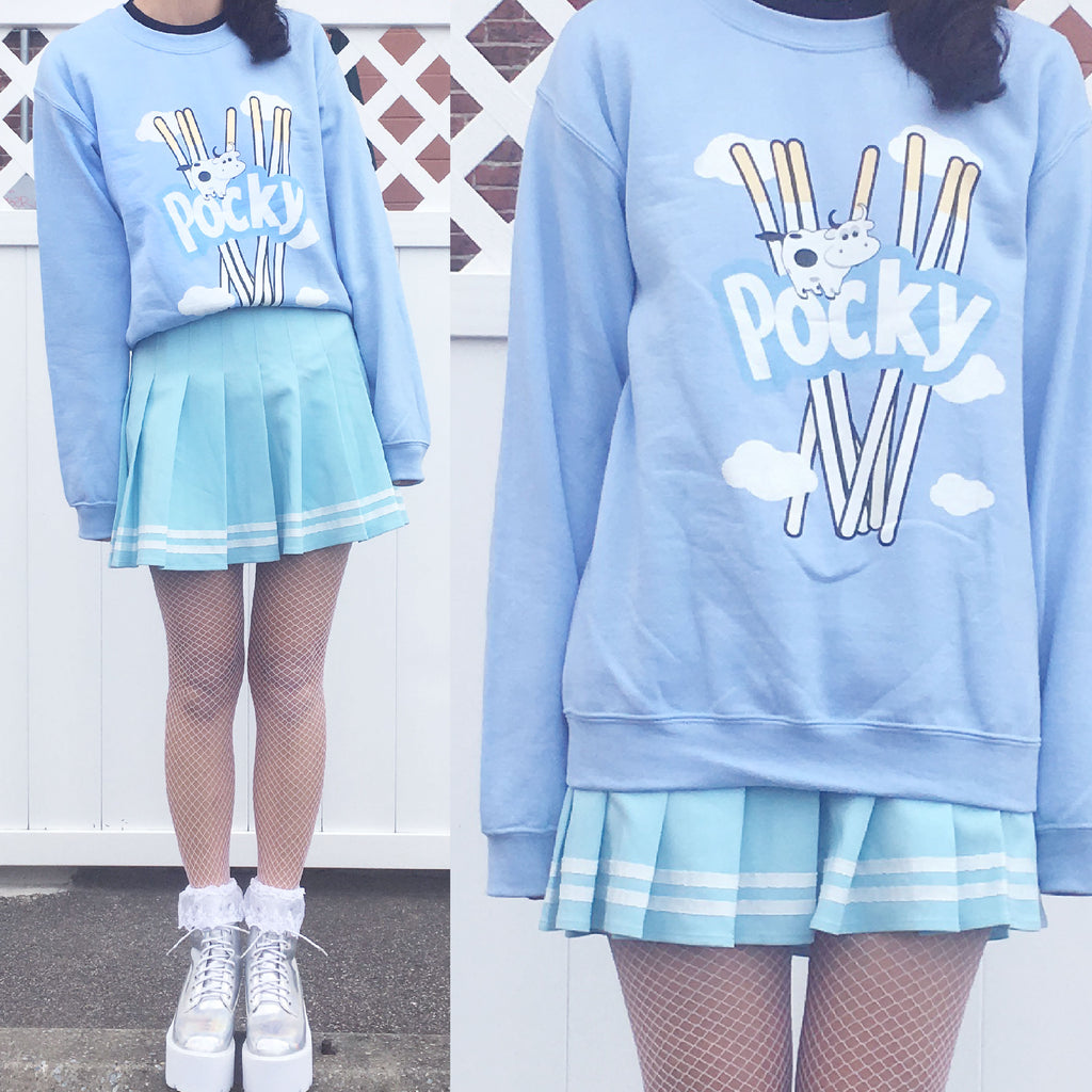 LIMITED ITEM SALE -MILK POCKY UNISEX JUMPER or MILK POCKY OUTFIT SET