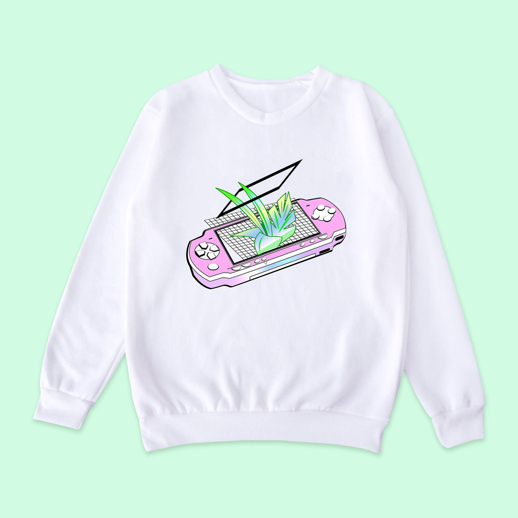 SAMPLE SALE- Vaporwave-tumblr-aesthetic PSP jumper