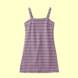 I PURPLE U Plaid dress