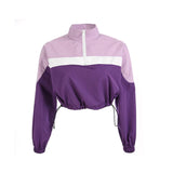 I PURPLE U - WINDBREAKER
