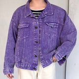 I PURPLE U- 2019 UNISEX VINTAGE JACKET