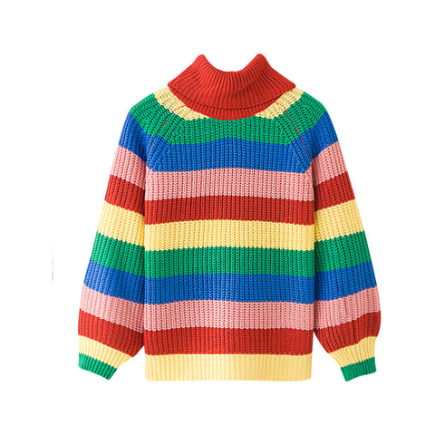 LOVE IS LOVE - RAINBOW KNIT TOP