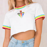 2019 LOVE IS LOVE POWER PUFF RINGER TEE