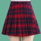 2019 KAWAII GRUNGE PREPPY MINI SKIRT