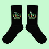 KOKO - SAD TEENS WITH HAPPY PLANTS SOCKS (MADE IN USA- SWEATSHOP FREE)