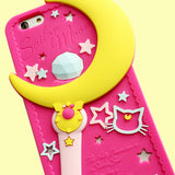 KAWAII MOON iPHONE CASE