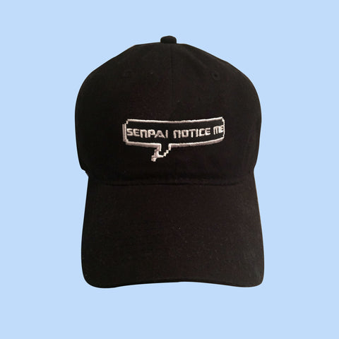 BLACK FRIDAY SALE-SENPAI NOTICE ME CAP