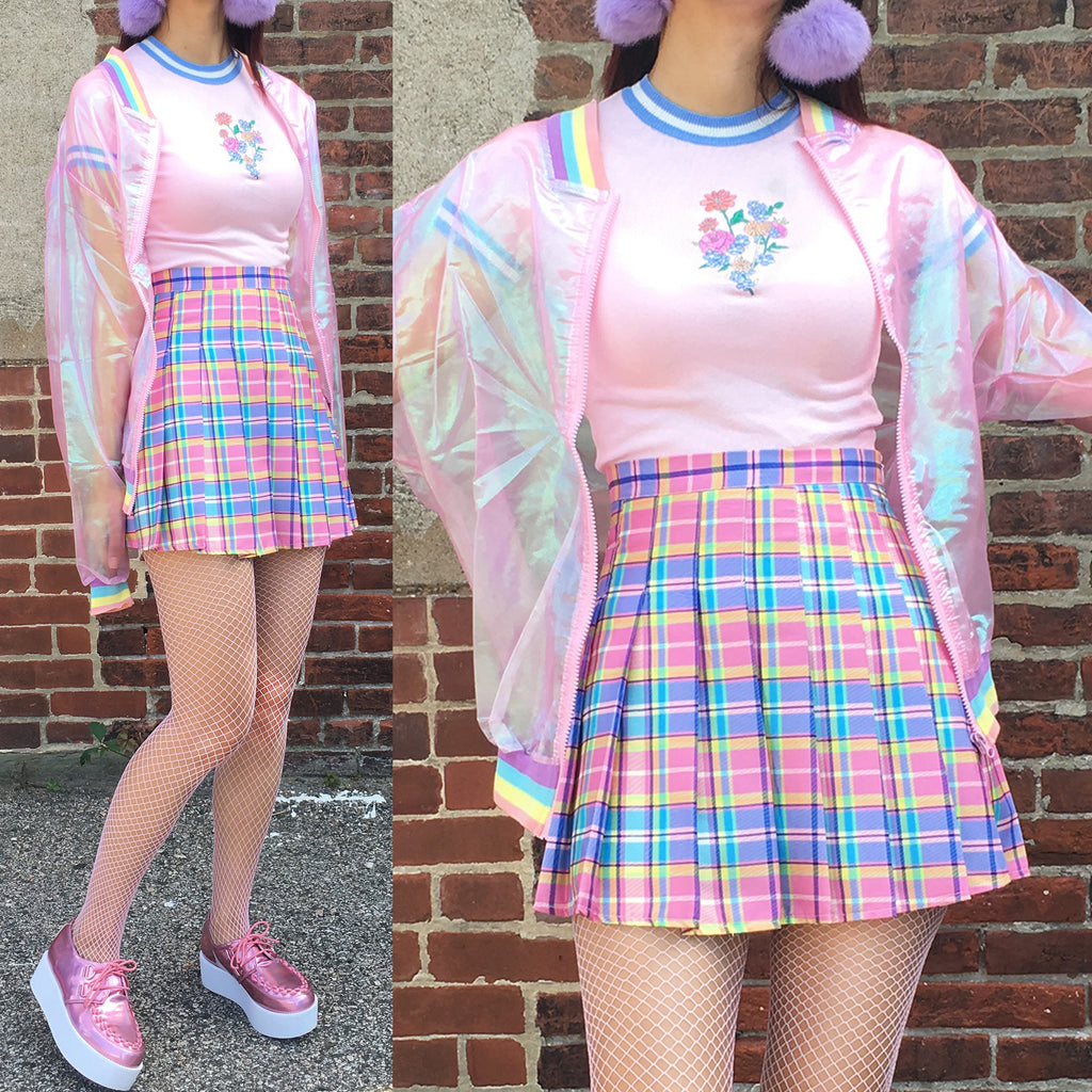 Valentine's Day SALE - RAINBOW sheer jacket