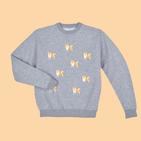 BLACK FRIDAY SALE-KOKO SHIBA UNISEX  jumper