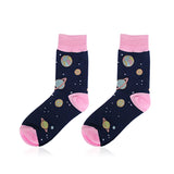 OUTER SPACE TUMBLR GRUNGE SOCKS
