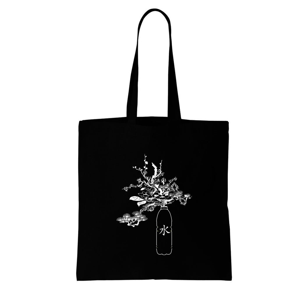 STAY HYDRATED IN JAPANESE TOTE BAG