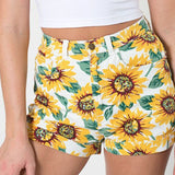 Flower chid - shorts