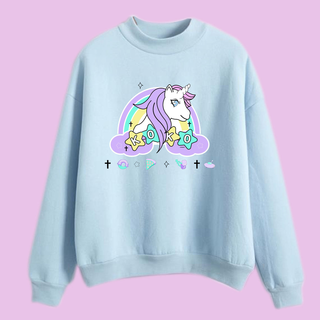 Unicorn koko turtleneck jumper