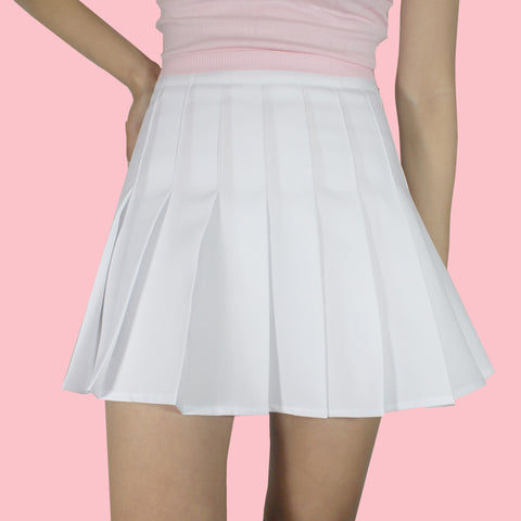 CYBER MONDAY SALE -NEW 2017 DESIGN WHITE TENNIS SKIRT