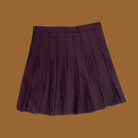 2019 FALL WINTER NEW - Limited Edition KOKO Wine Skirt