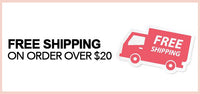 FREE U.S. STANDARD SHIPPING on orders of $20 or more.