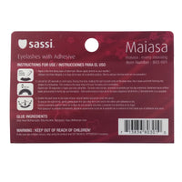 Sassi 803-001 Remy Hair Eyelashes,Balck