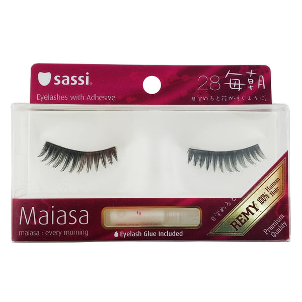 Sassi 803-028 Remy Hair Eyelashes,Balck