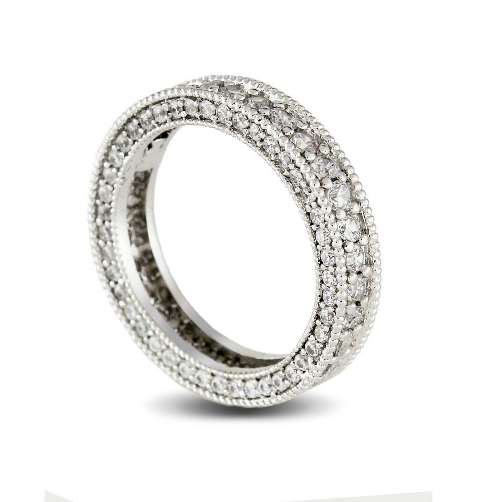 CZ Around Eternity Band Ring
